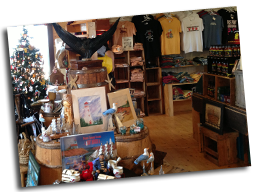 Inside East Point Craft Shop